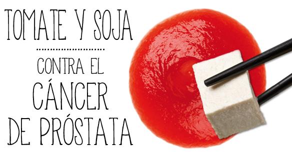 cancer de prostata y soja