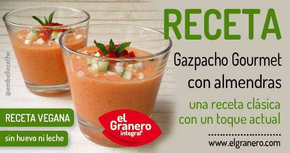 receta de gazpacho gourmet de el granero integral