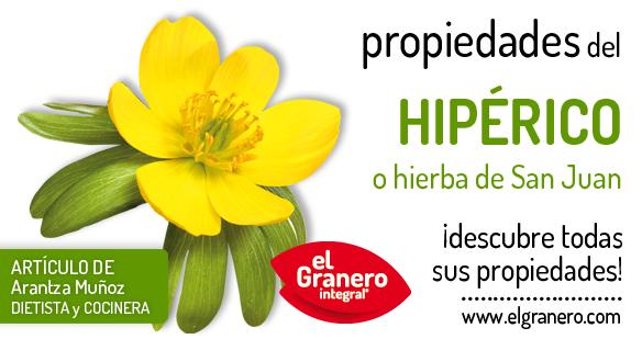 propiedades del hipérico